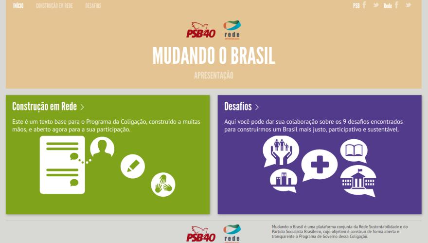 Tela - Mudando o Brasil 1